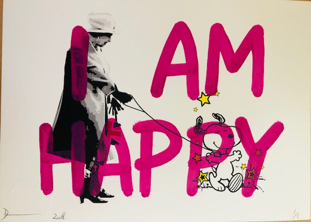 """I AM HAPPY"" 29x21cm (Edition of 1)"