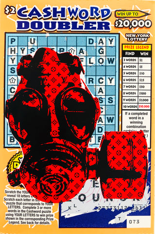 LOTTERY Red Mask