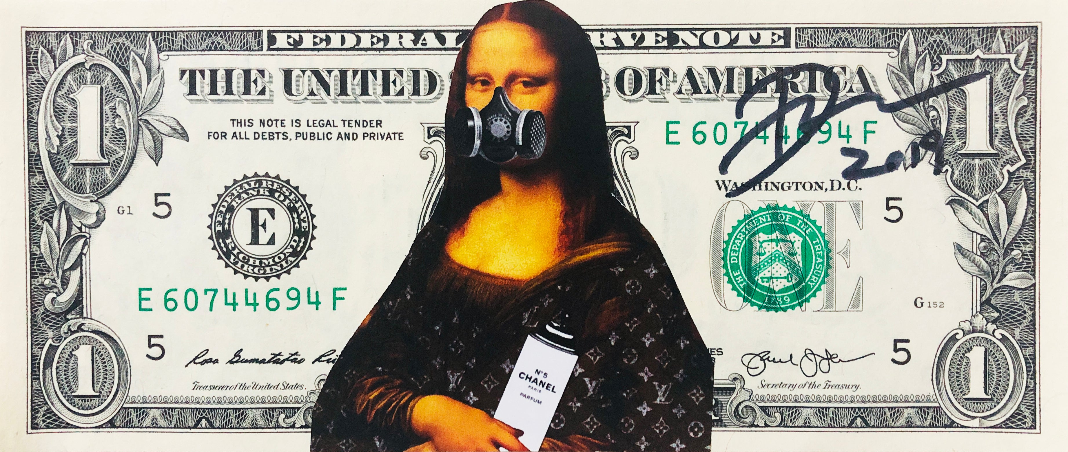 $1 Mona Lisa Spray