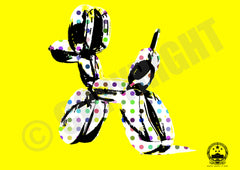 Dot Dog Yellow