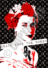 Queen Save DN Red