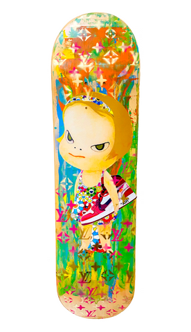 "Original Skateboard ""N AJ"" (Edition of 1) (2020) GIFT*"