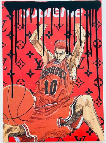 """Dunk 10"" 42x30cm (2020) Edition of 1"