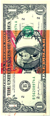 "$1 USD  ""$ Her N"" (2020) Edition of 10"