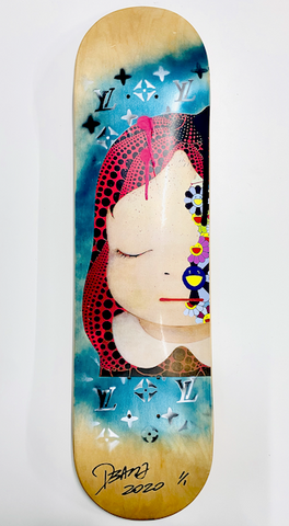 "Original Skateboard ""Starry"" (Edition of 1) (2020) GIFT*"