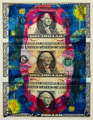 "$1 USD  ""Starry"" (2020) Edition of 10"