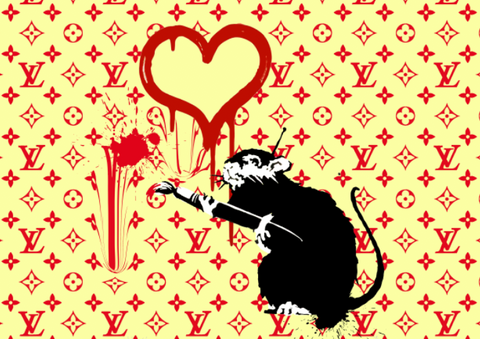 """RAT ART"" 45x32cm (Edition of 10) (2020)"