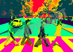 Beatles Crossing Pop G (A4)