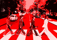 "Beatles Red (8"" x 12"")"