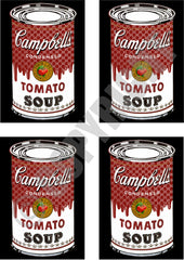 4 Can Soup Black (A4)