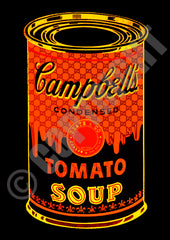 Can Soup Red Yellow