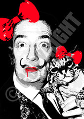 Dali Cat Red (A4)