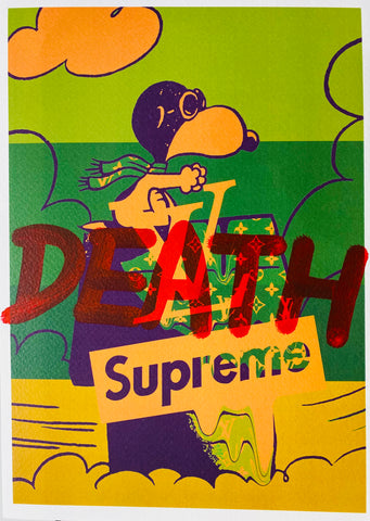 "Snoop L Fly G ""DEATH"" (8"" x 12"") (Edition of 1)"