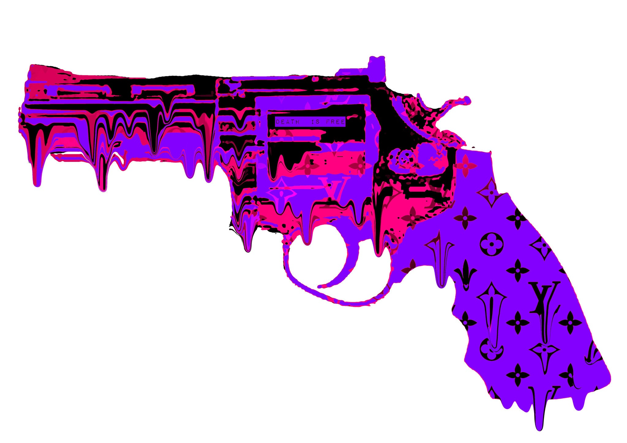 L Gun Melt Purple