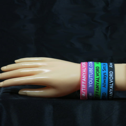 Colored Wrist-Bands