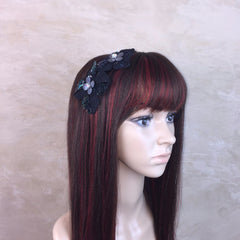 Sequin Flower Headband