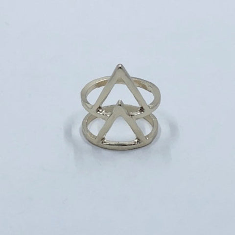 Gold Triangle Ring