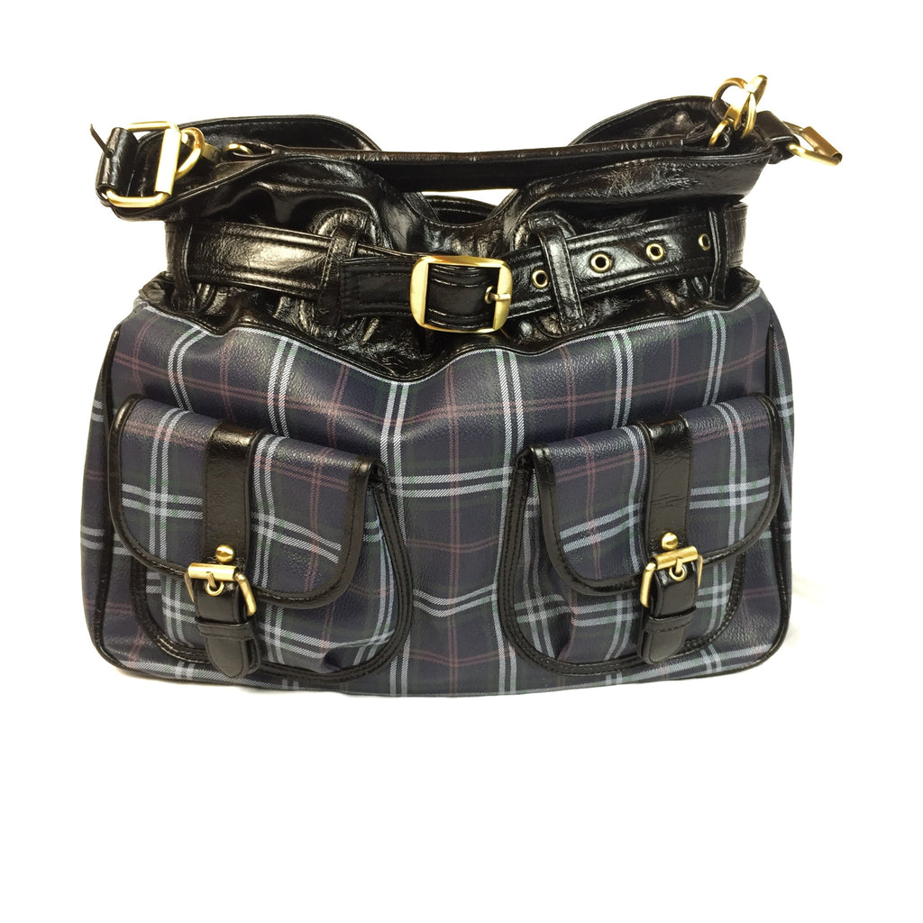 Preppy Plaid Purse