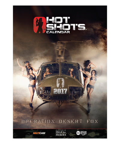 Hot Shots Full Back Catalogue Calendar Bundle 2010 - 2017 (8 Calendars)
