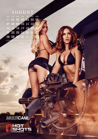 Hot Shots Calendar Bundle 2016 & 2017 (2 Calendars)