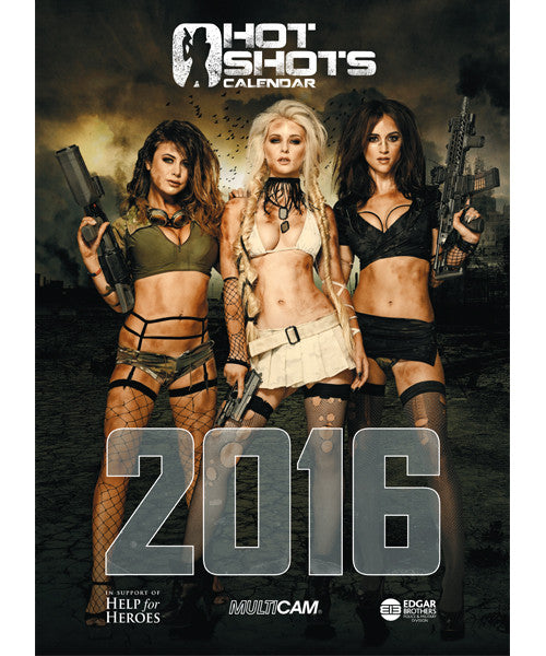Hot Shots Calendar 2016 - Limited Edition Signed Copy