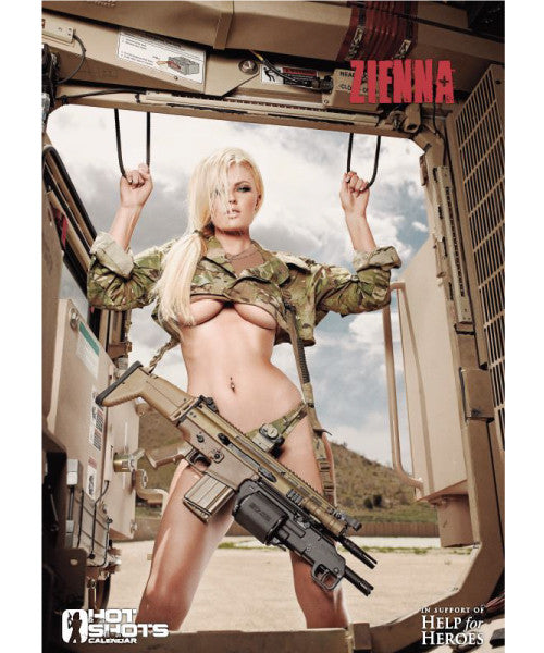 Hot Shots Poster - Zienna Eve