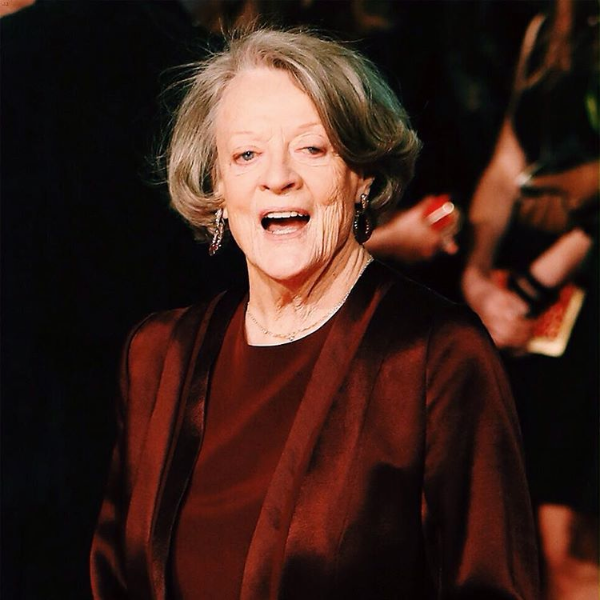 Dame Maggie Smith Wearing Laurence Coste