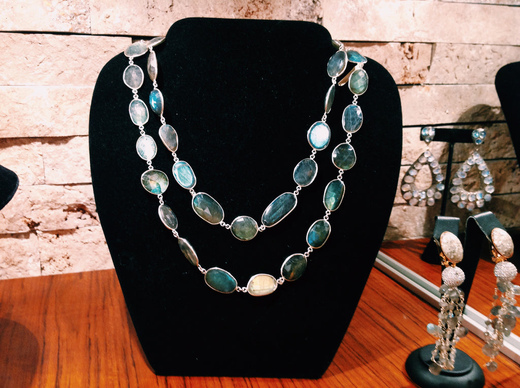 laurence coste labradorite necklace
