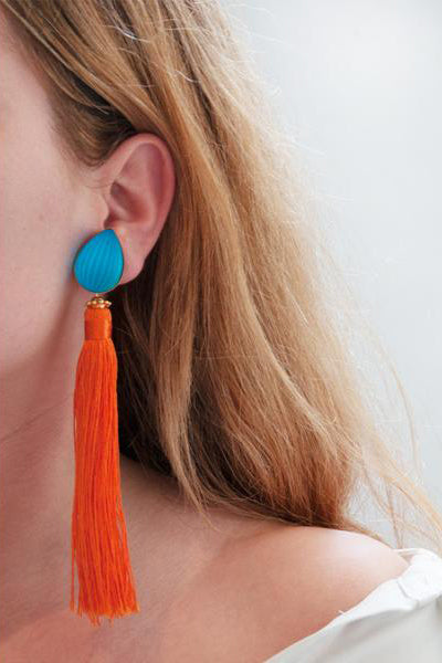 LaurenceCoste_Earrings_Clipon_Lalique_tassel_London