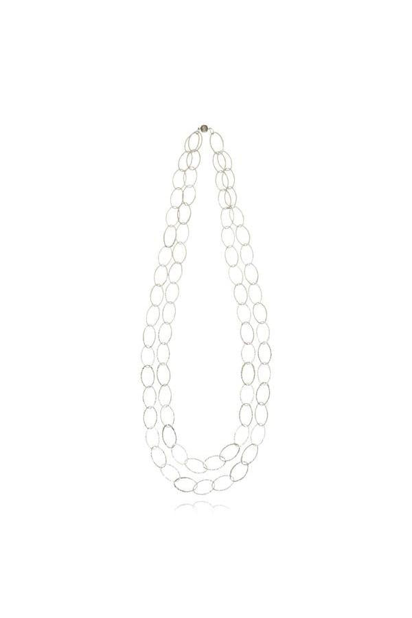 Links Double String Necklace
