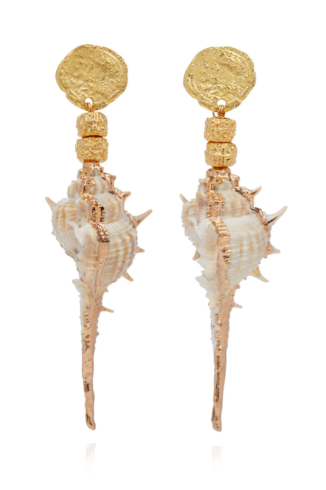 Harper Shell Earrings