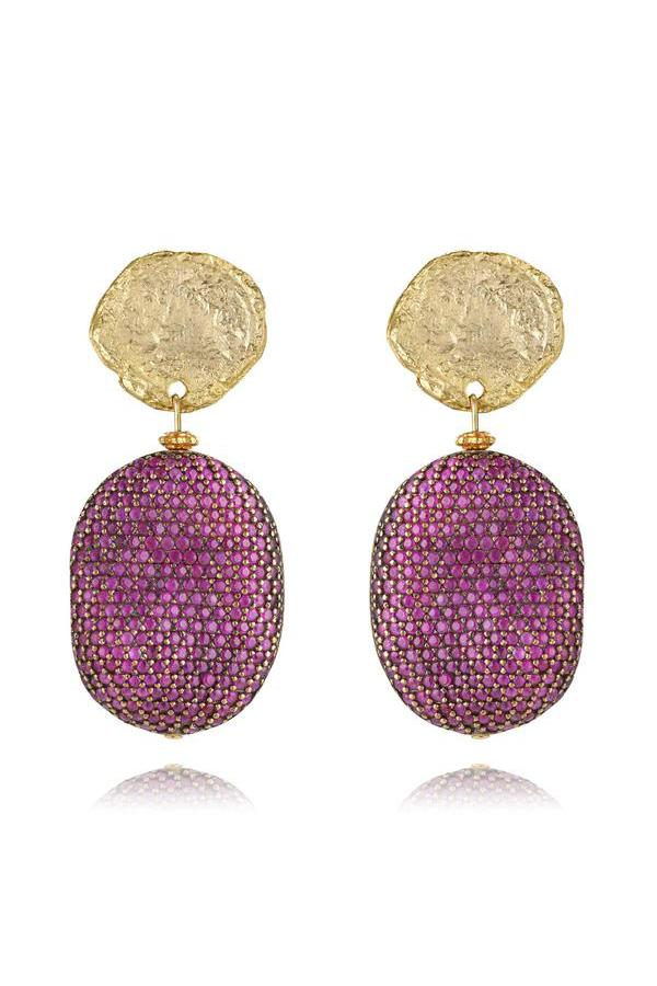 LaurenceCoste_Earrings_Clipon_Gold_Crystal_London