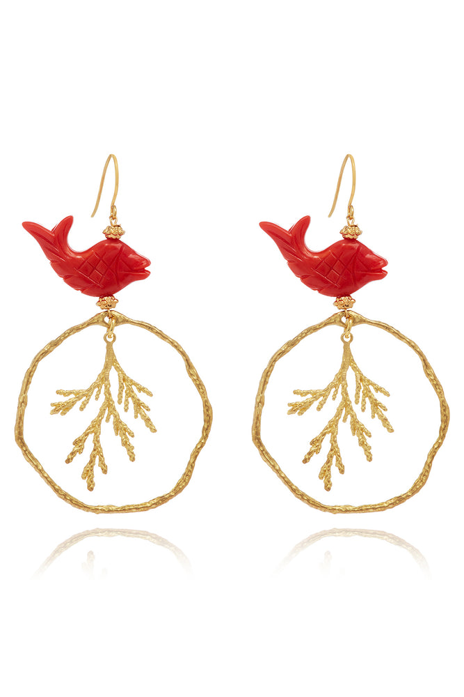 Triton Fishook Earrings