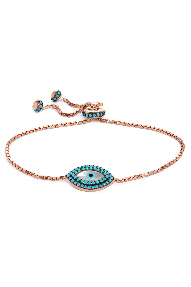 Sybil Evil Eye Friendship Bracelet