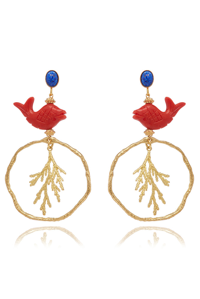 Triton Earrings
