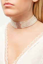 LaurenceCoste_Necklace_Choker_Red_London