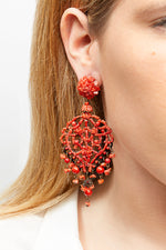 LaurenceCoste_Earrings_Red_Coral_London