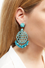 LaurenceCoste_Earrings_Turquoise_London