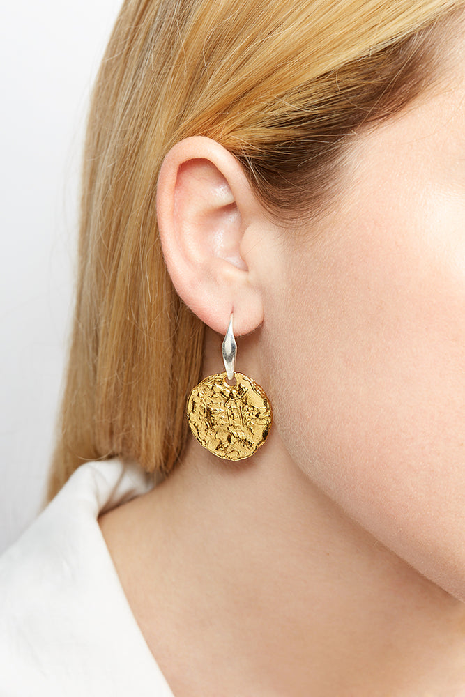 LaurenceCoste_Earrings_Gold_London