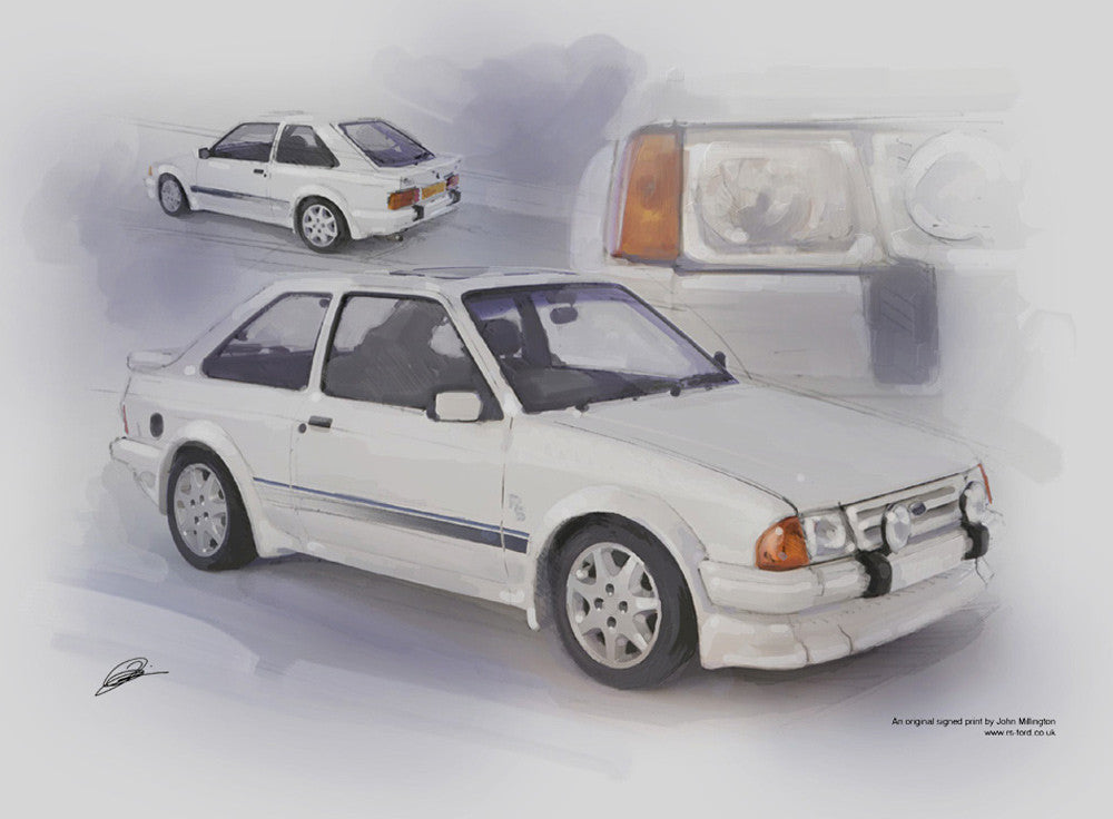Ford Escort RS Turbo Series one (S1)