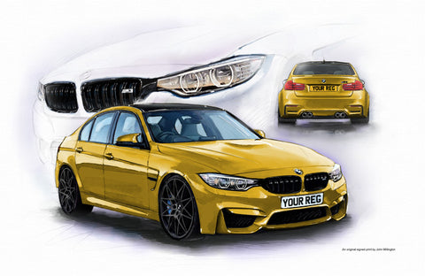 BMW M3 F80 Competition Pack