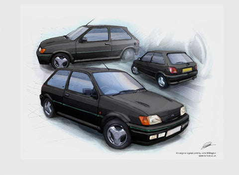 Fiesta RS Turbo - Black