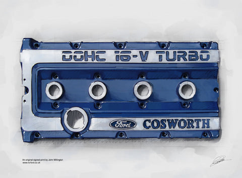 Ford Escort/Sierra Cosworth Rocker Cover