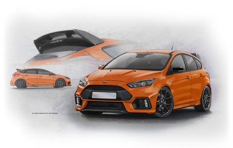 Ford Focus RS Mk3 Heritage Edition