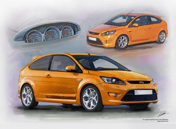 Ultimate Orange Focus ST Mk2