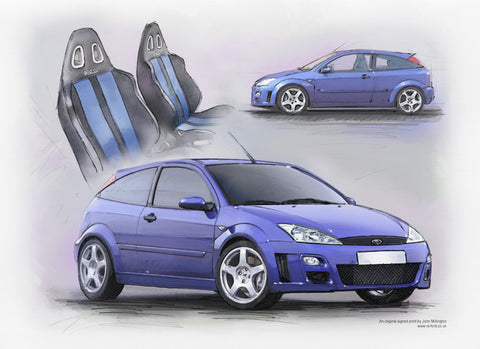 Ford Focus RS Mk1 - All New