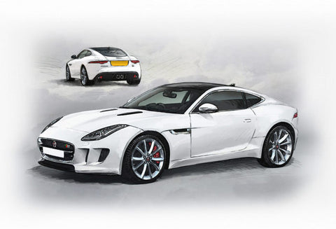 F-Type Jaguar - All colours and options