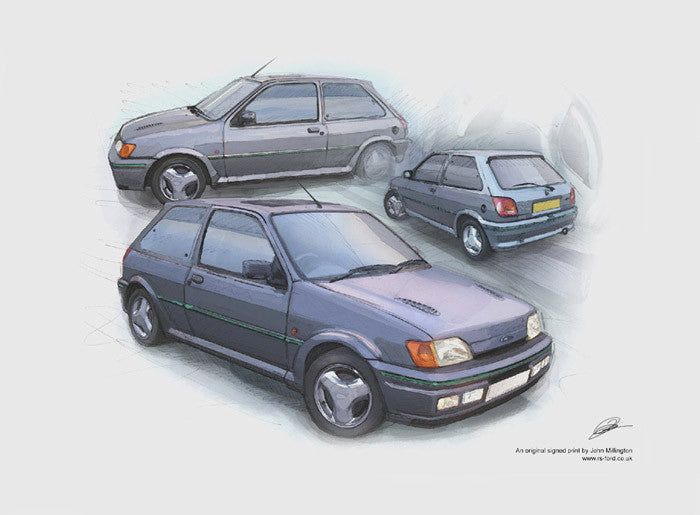Fiesta RS Turbo - Mercury Grey