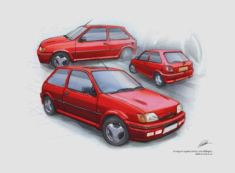 Fiesta RS Turbo - Radiant Red