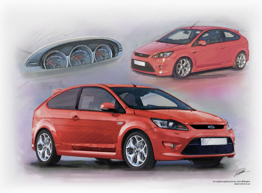 ford focus st mk2 facelift 2008 2010 auto artwork. Black Bedroom Furniture Sets. Home Design Ideas